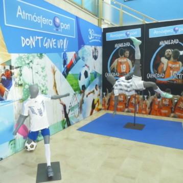 Atmósfera Sport aumenta sus inversiones para dotarse de mayor capacidad logística