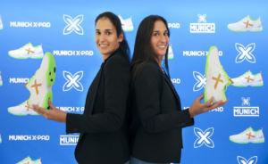 Munich promueve su modelo Oxygen con el fichaje de las hermanas Sánchez Alayeto
