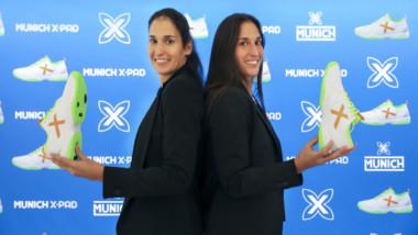 Munich promueve la zapatilla Oxygen con el fichaje de las número 1 del pádel mundial