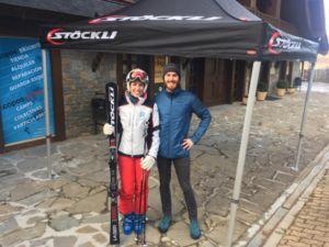 test de esquí Stöckli en Baqueira Beret