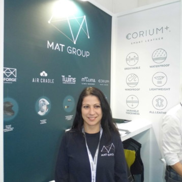 Mat Group acude a Ispo con su piel inteligente Corium+ Smart Leather