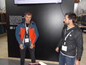 Alberto Iñurrategi e Imanol Muñoz presentan la línea más técnica de Ternua