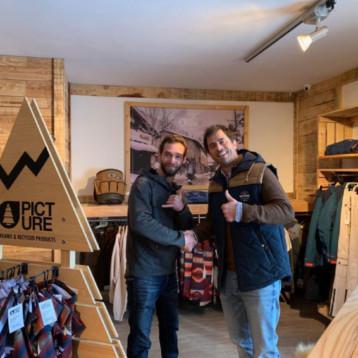 Wapiti inaugura un espacio Picture Organic Clothing