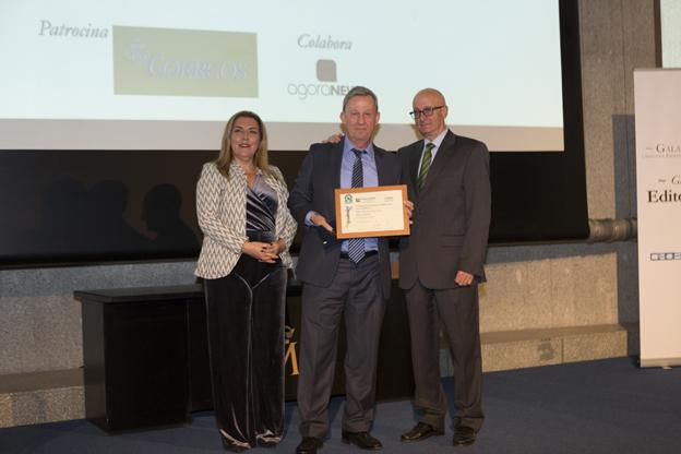 Peldaño recibe el reconocimiento de la Asociación Española de Editores de Publicaciones Periódicas