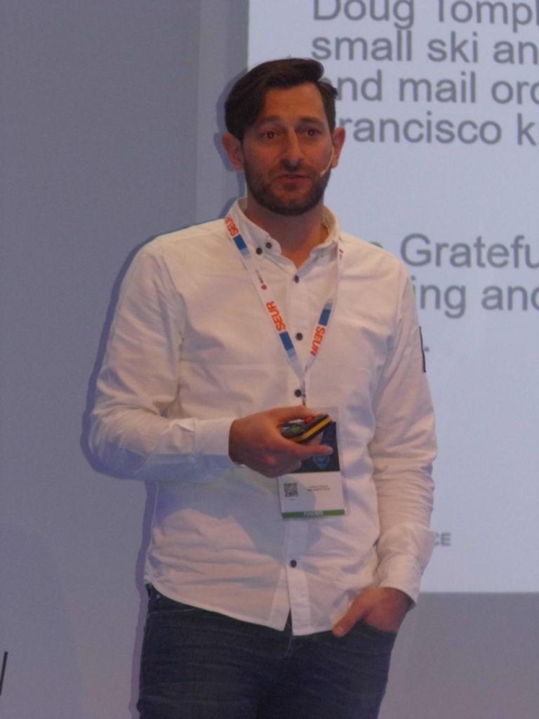 Federico Manno, directivo de The North Face, interviene en eShow Barcelona