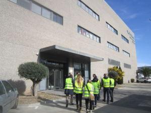 Afydad visita la plataforma logística de Grup Sevica