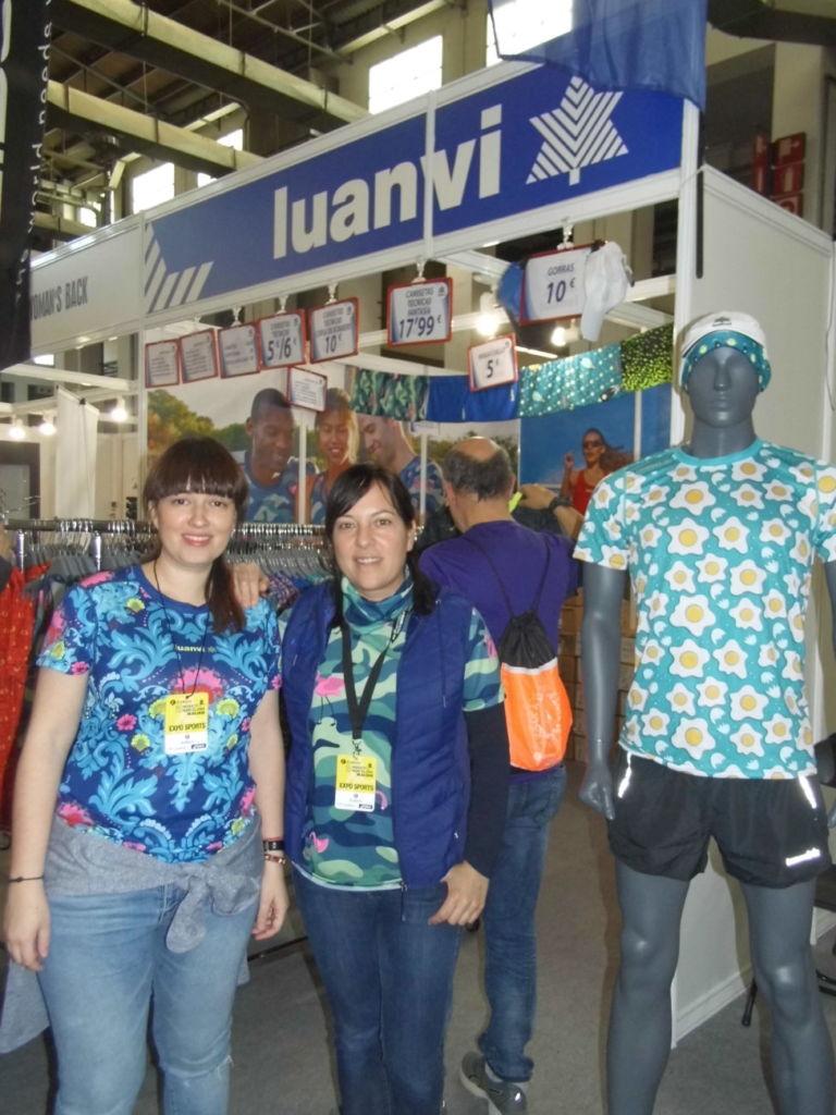 Luanvi se estrena en Expo Sports con su textil de running