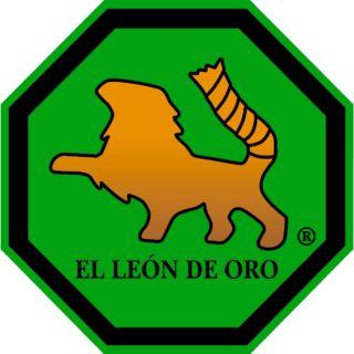 logotipo de El León de Oro, redes técnicas para deporte