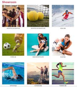 showroom digital de Diffusion Sport