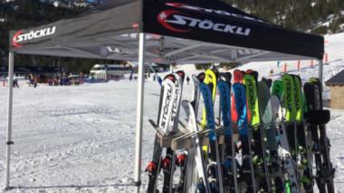 Viladomat Esports protagoniza un nuevo test de Stöckli en Andorra