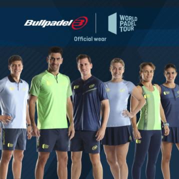 Bullpadel presenta la colección oficial del textil del World Padel Tour