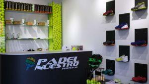 Padel Nuestro abre tienda en Portugal y crece un 33%