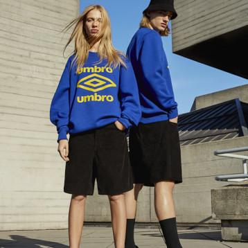 Umbro crea una colección exclusiva de streetwear con Pull&Bear