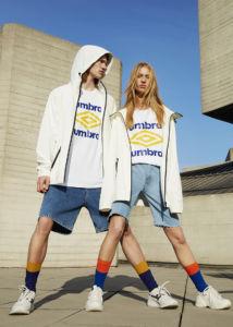 Umbro y Pull&Bear unen esfuerzos en una colección streetwear