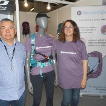 Woman'sBack: la mochila para las mujeres que superan un cáncer de mama