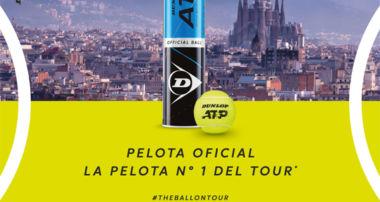 Dunlop protagonista estelar en el Torneo Godó de tenis