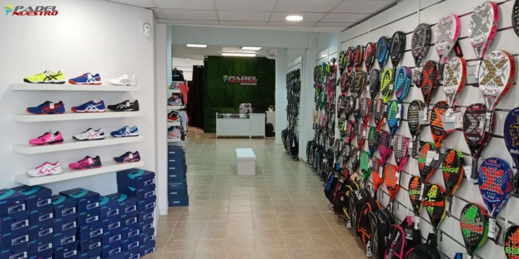 nueva tienda Padel Nuestro en Badalona