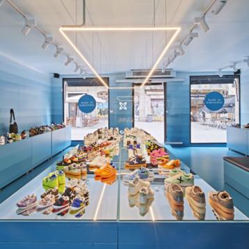Munich inaugura su nueva tienda en el Born de Barcelona