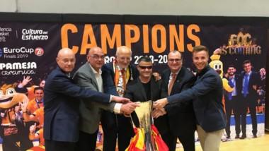 Atmósfera Sport celebra con el Valencia Basket la Eurocup
