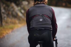 chaleco Windflex de Tactic para ciclismo