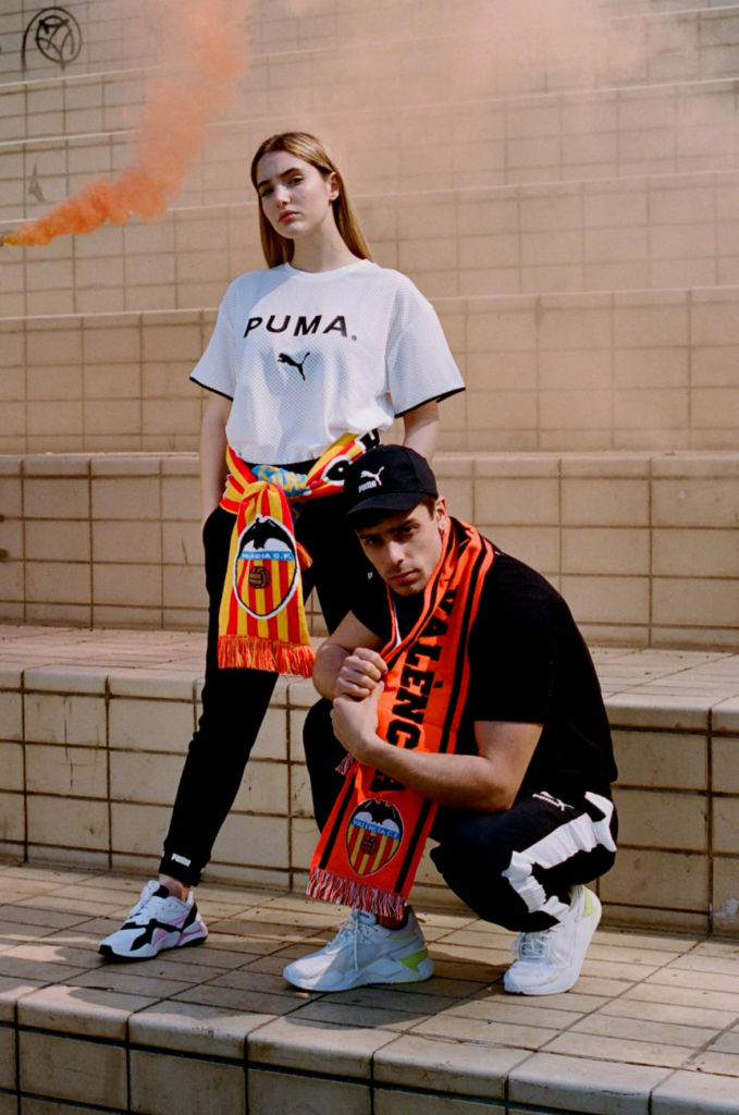 El Valencia Club de Fútbol se asocia con Puma