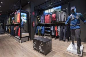 primera brand store de Salomon en España, en Madrid