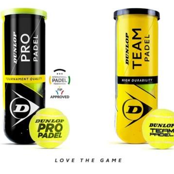 Dunlop renueva su gama de pelotas de pádel
