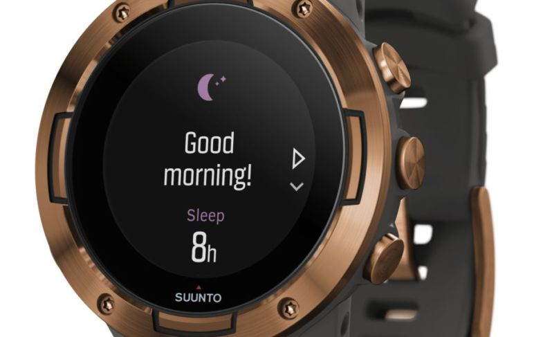 SS050302000 – SUUNTO 5 G1 GRAPHITE COPPER KAV – Perspective View_good morning in the watch