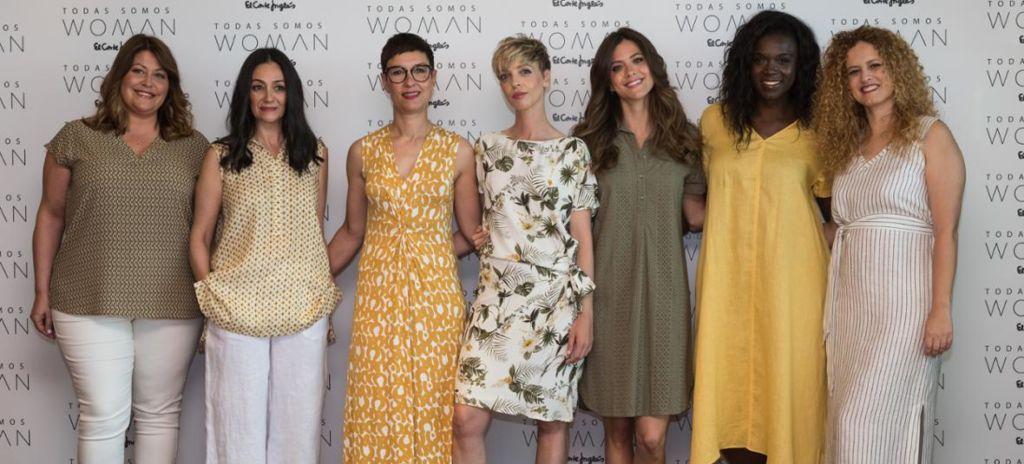 El Corte Inglés hace campaña de su marca Woman con sus empleadas