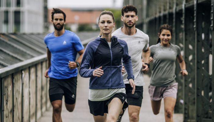 tecnologías de Odlo para la práctica del running