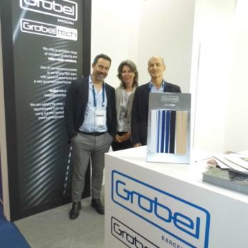 Grobel se estrena en Techtextil para promover su nueva marca Grobeltech enfocada a penetrar en el sector tecnológico