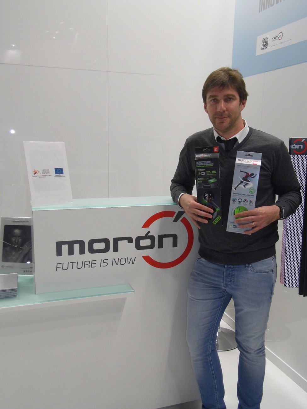 Morón Group participa en Techtextil 2019