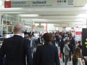 éxito de participación en Techtextil y Texprocess 2019