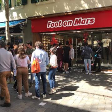 Foot on Mars se expande con una apertura en Gibraltar
