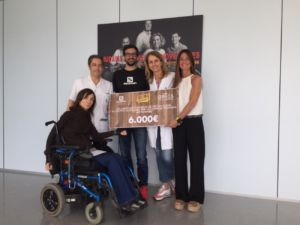 Salomon recauda 6.000 euros en una iniciativa solidaria