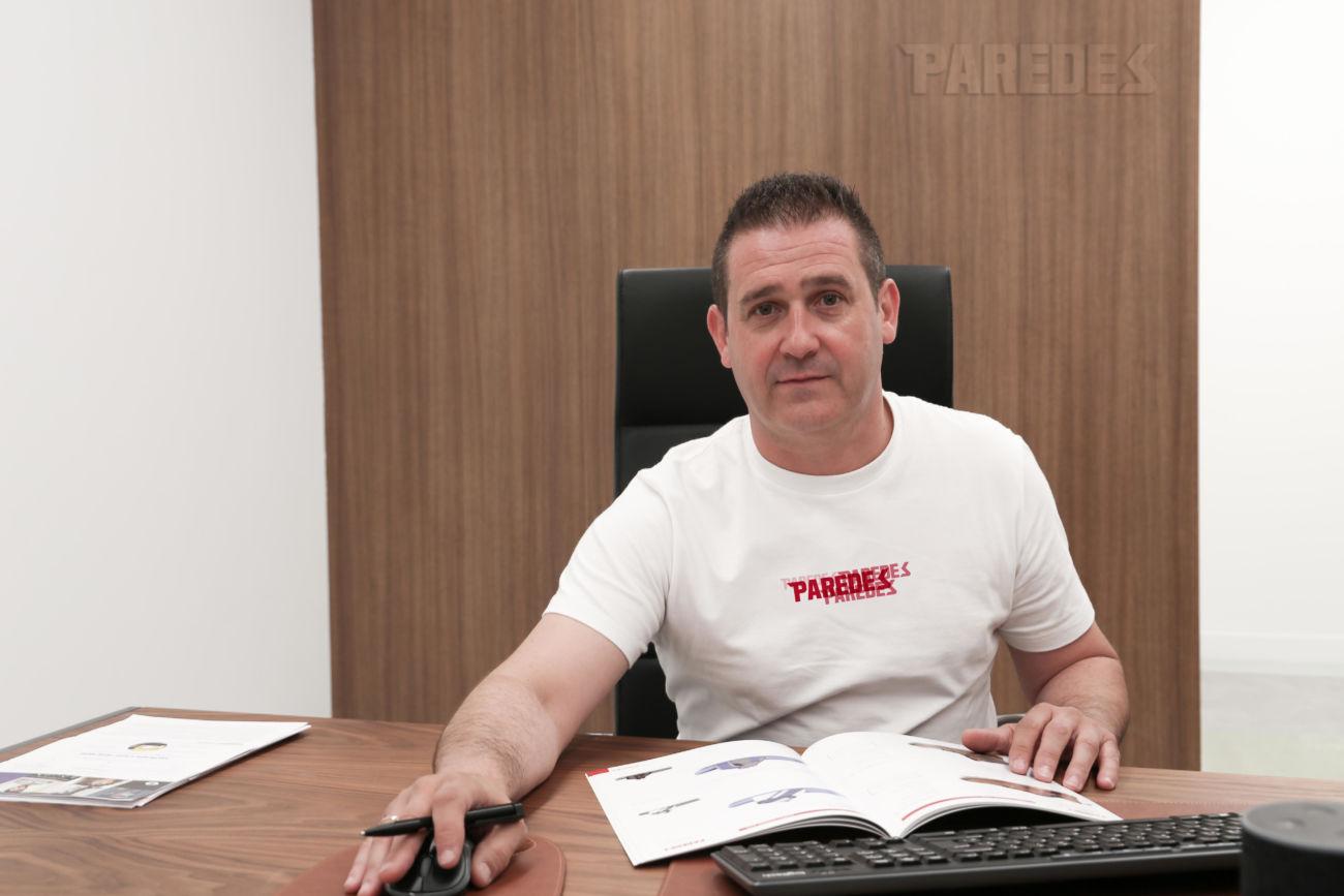 Juan Francisco García es el nuevo director comercial de Calzados Paredes