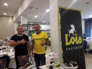 Dunlop y Lois Footwear participa en jornadas de compra de Point Sport