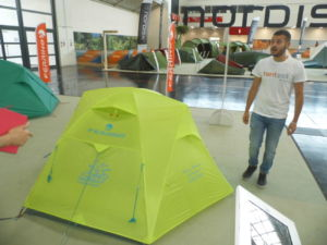 Ferrino presenta la tienda de campaña personalizable en OutDoor by Ispo