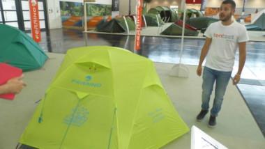 Ferrino lanza una tienda de campaña personalizable