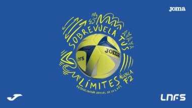 Joma presenta el Águila F2, balón oficial de la Liga Nacional de Fútbol Sala