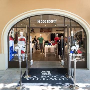 Le Coq Sportif abre una pop-up en La Roca Village