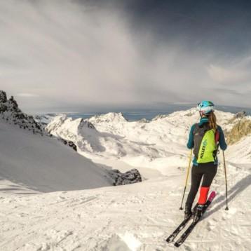 Millet apoya a Nahia Quincoces en su expedición al pico Lenin