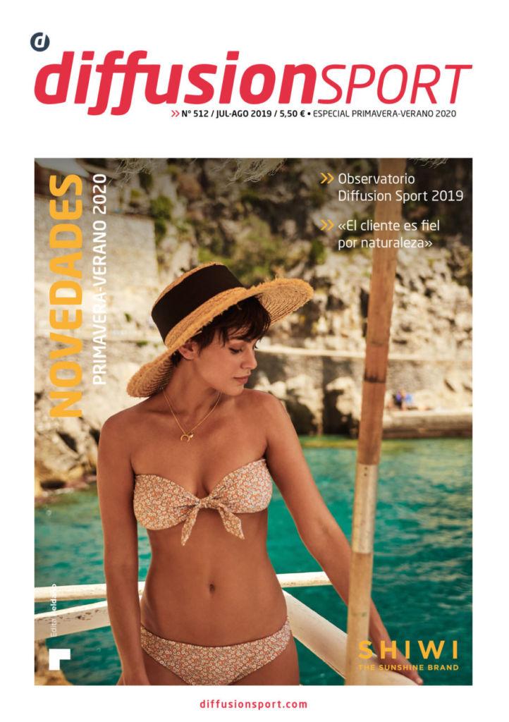 Shiwi protagoniza la portada de Verano de Diffusion Sport