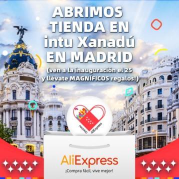 Aliexpress acelera en España con una tienda física en Madrid