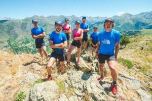 Equipo Buff para la ultra Trail del Mont-Blanc