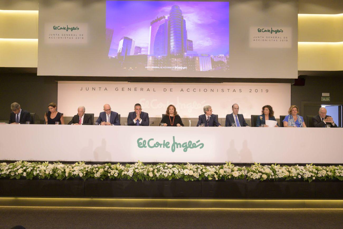 El Corte Inglés celebra su Junta de Accionistas