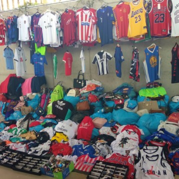 Incautan más de 2.000 productos falsificados en Albacete