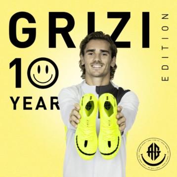 Puma celebra una década gloriosa de Griezmann con unas botas