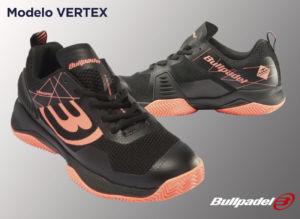 Zapatilla Vertex de Bullpadel en nuevos colores