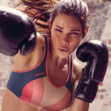 Shock Absorber brinda sujeción y evita lesiones a la mujer activa
